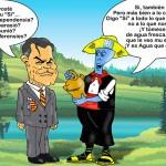 Glub y Artur Mas