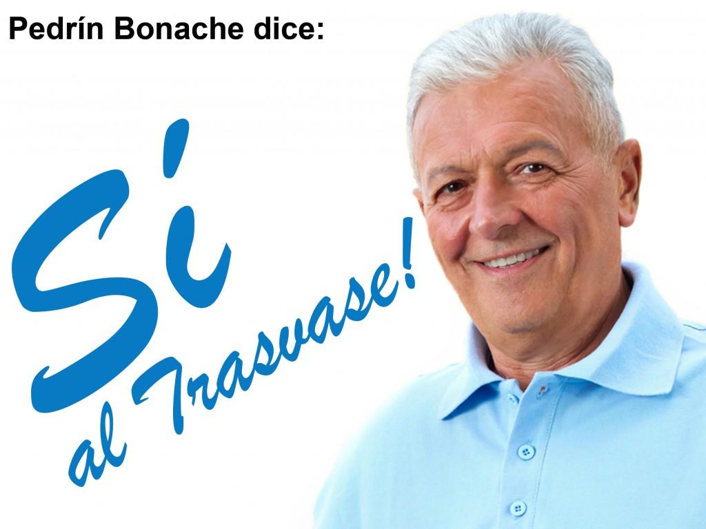 Pedrín Bonache dice Si al Trasvase