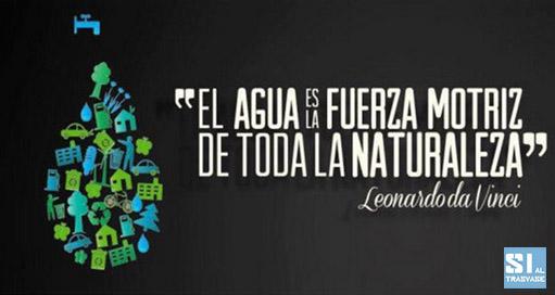 El agua es la fuerza motriz de toda la naturaleza