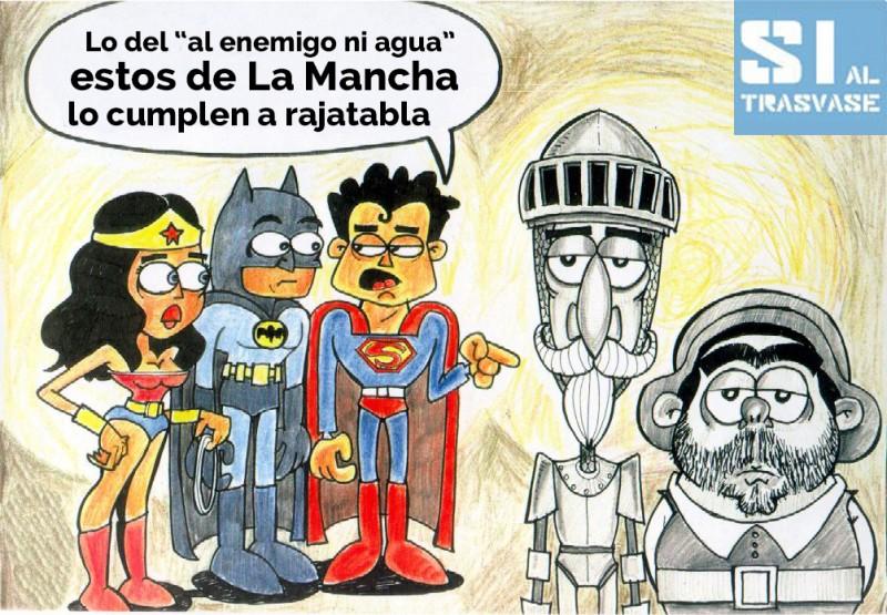superheroes al enemigo ni agua