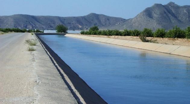 Canal trasvase campo de Cartagena