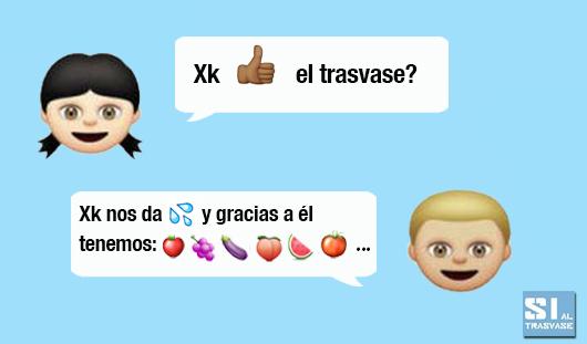 Trasvase emoji