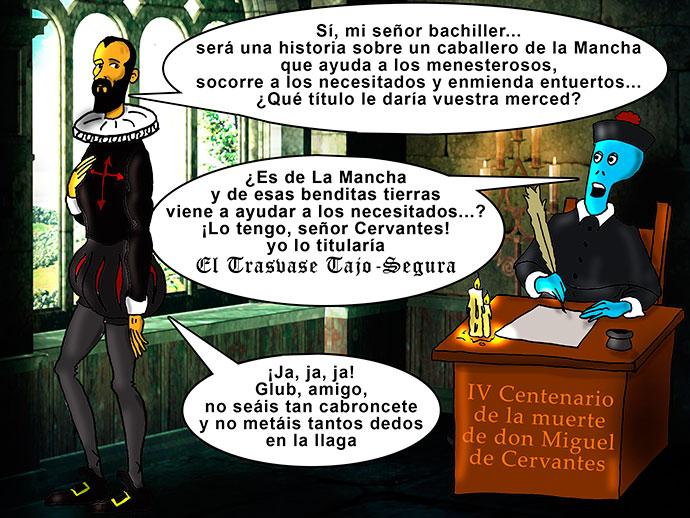 Glub y Cervantes