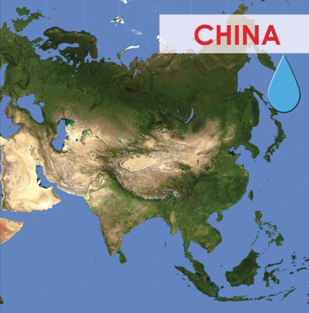 trasvases en asia